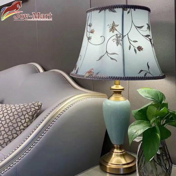 đèn ngủ để bàn gốm sứ hiện đại mb8029