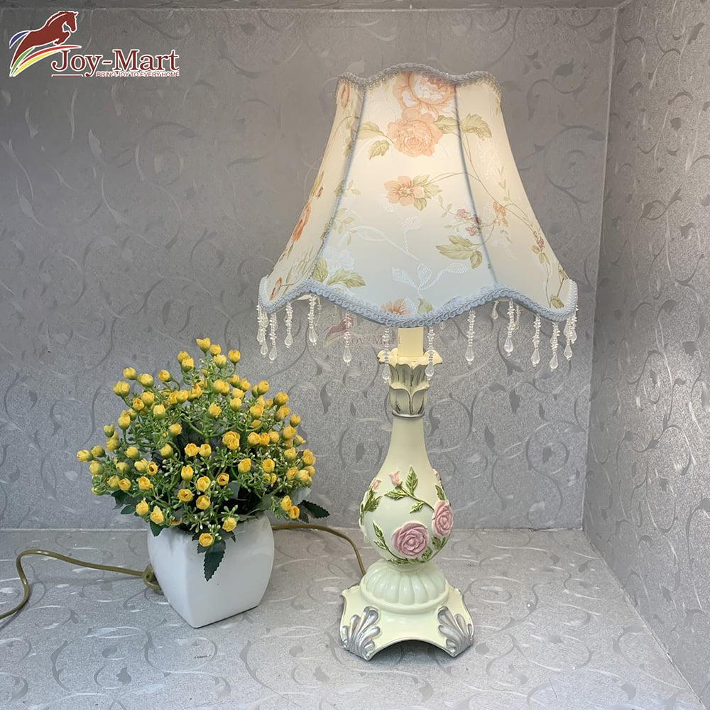 đèn bàn tân cổ điển trang trí phòng ngủ cao cấp mb8124