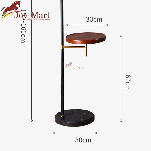 đèn cây có bàn gỗ để đồ tiện lợi ML5024