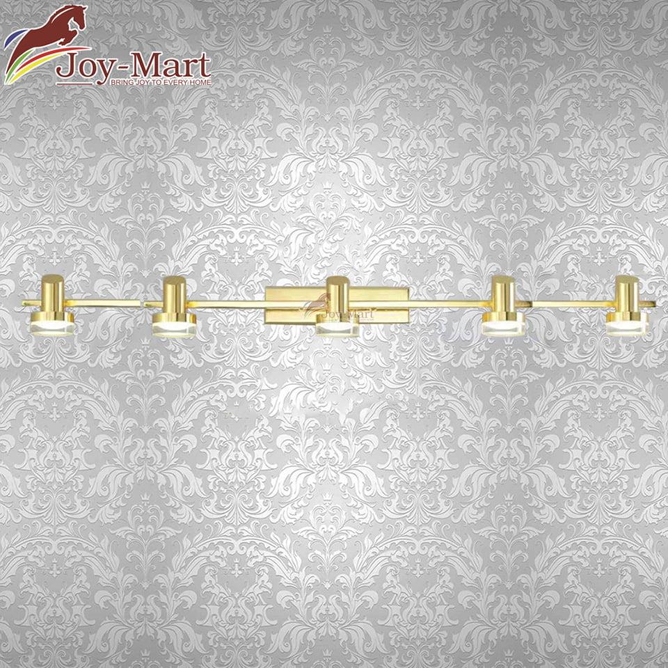 Đèn trang trí tranh hợp kim mạ vàng dài 120 cm MST1712/5